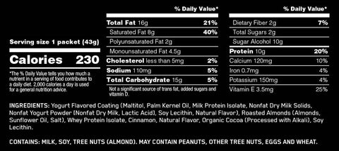 Protein Almonds by Optimum Nutrition Functional Food at Supplement Superstore Canada