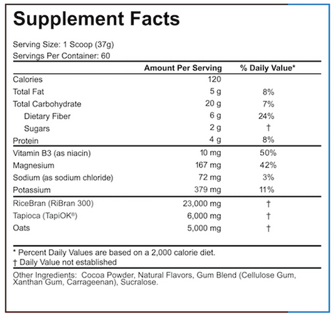 5% Nutrition Real Carbs Rice Food Carbohydrate at Supplement Superstore Canada