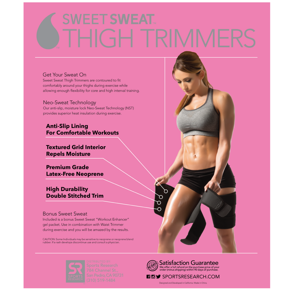 Sweet Sweat Thigh Trimmer by Sweet Sweat Accessory at Supplement Superstore Canada