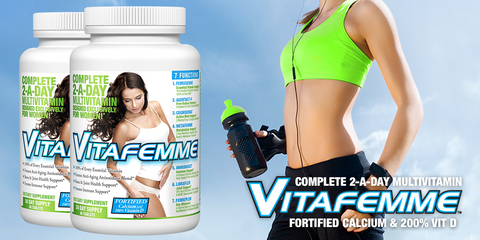 VitaFemme Multi Vitamin from Allmax Femme Foundation Health at Supplement Superstore