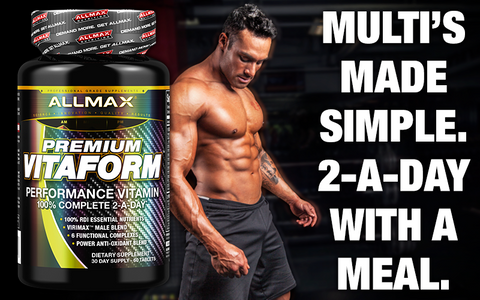 Allmax VitaForm Multi Vitamin General Health at Supplement Superstore Canada
