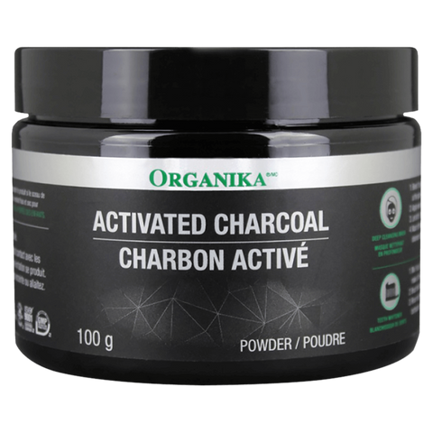 Activated Charcoal Organika Skin Health Supplement Superstore