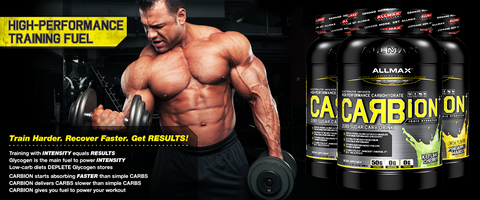 CarbIon by Allmax Carbohydrate at Supplement Superstore