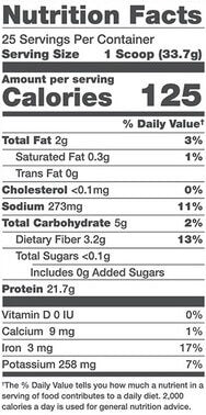 Alani Nu Plant Protein Vegan Nutrition Facts