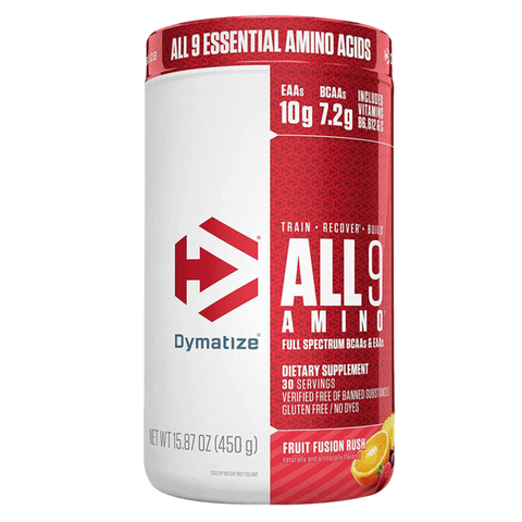 All 9 Amino Dymatize Essential Amino Acids BCAA Supplement Superstore