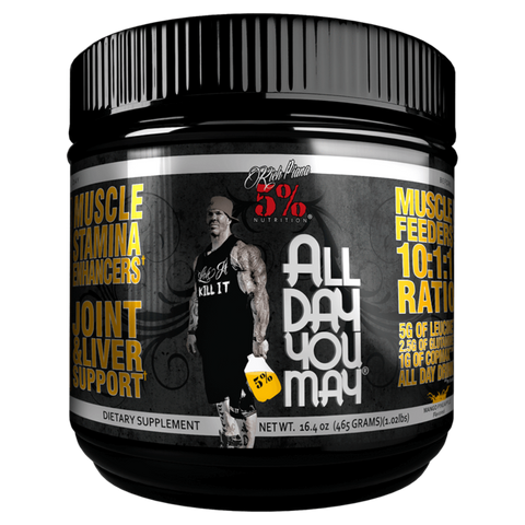 All Day You May BCAA 5% Nutrition Amino Acids Supplement Superstore