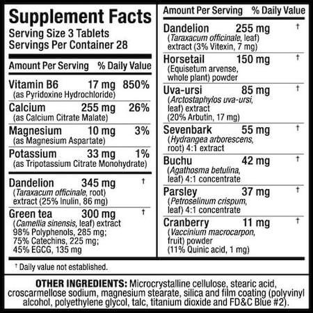 Allmax HydraDry Nutrition Facts at Supplement Superstore Canada