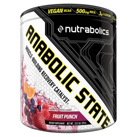 Anabolic State BCAA Nutrabolics Amino Acids Supplement Superstore