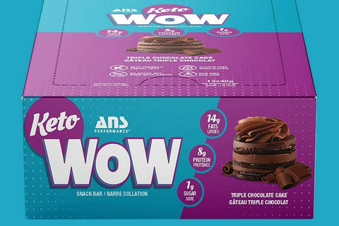 ANS Keto Wow Snack Bar in a Box