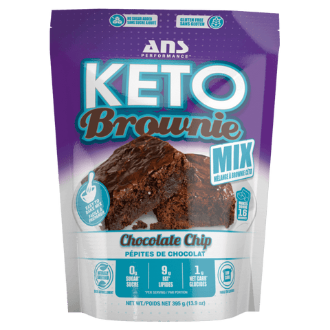 ANS Performance Keto Brownie Mix Ketogenic Diet Friendly Supplements Canada