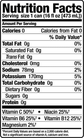 Bang Energy Drink Nutrition Facts at Supplement Superstore Canada