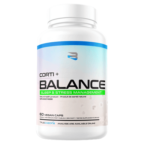 Corti + Balance supplements from Believe