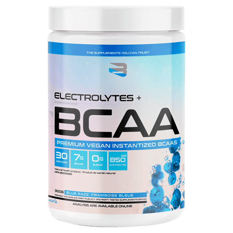 Electrolytes and BCAAs from Believe Supplements