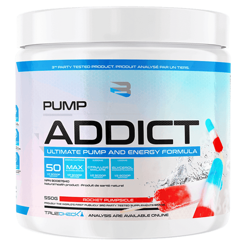 Believe Supplements Pump Addict Pre-Workout at Supplement Superstore Canada