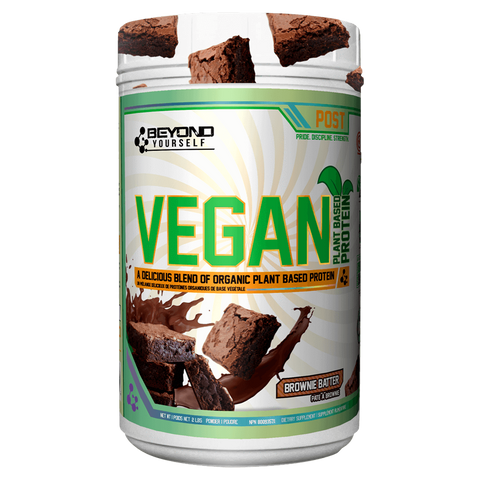 Beyond Yourself Vegan Protein Brownie Batter