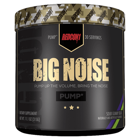 Big Noise Pre-Workout RedCon1 Stimulations Free Supplement Superstore