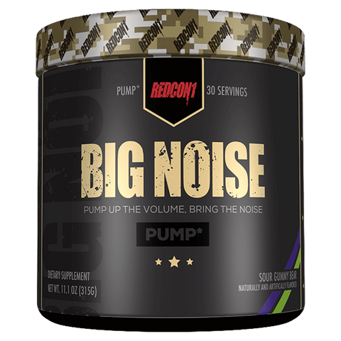 Big Noise Pre-Workout RedCon1 Stim Free Supplement Superstore
