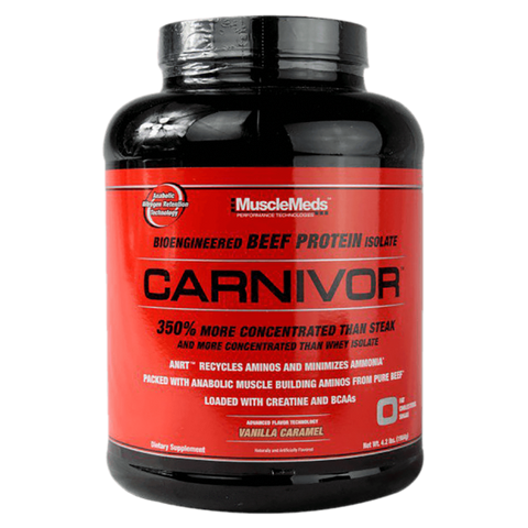 Carnivore's MuscleMeds Beef Protein Powder Isolate Supplement Superstore