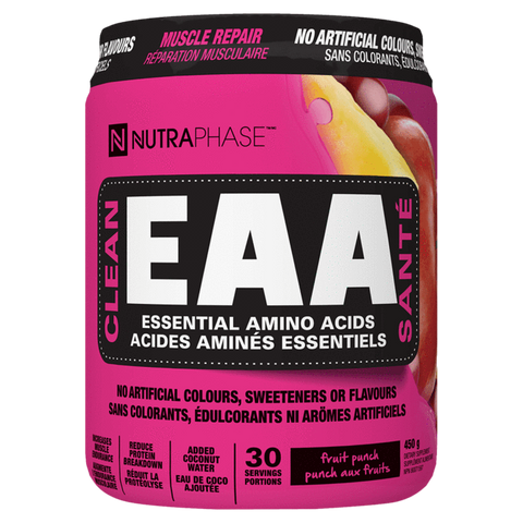 Clean EAA NutraPhase Naturally Sweetened Amino Acids Supplement Superstore