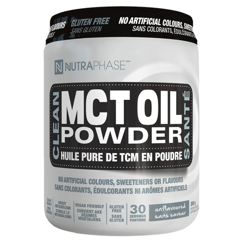 Clean MCT Oil Powder NutraPhase Keto Friendly Supplement Superstore
