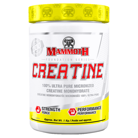 Mammoth Creatine Monohydrate Build Muscle Supplement Superstore