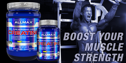 Allmax Creatine Monohydrate Raw Ingredients at Supplement Superstore Canada