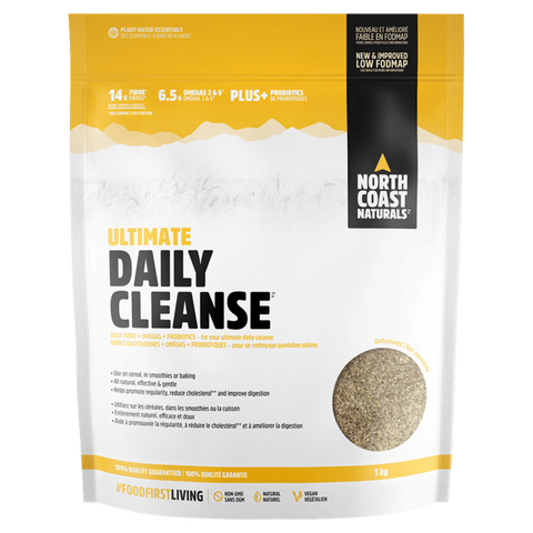 Daily Cleanse North Coast Naturals Fibre Supplement Superstore