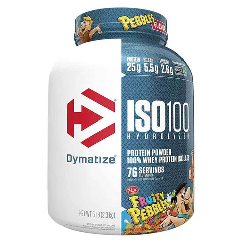 Dymatize Iso-100 Hydrolyzed Whey Protein Isolate Fruity Pebbles at Supplement Superstore Canada