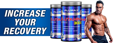 Glutamine Capsules by Allmax Glutamine at Supplement Superstore