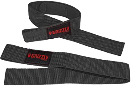 Grizzly Fitness Gym Accessories Lifting Straps