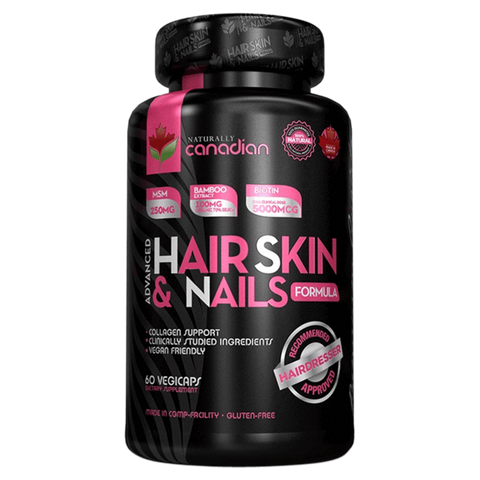 Hair Skin & Nails Naturally Canadian Advanced Formula Supplement Superstore