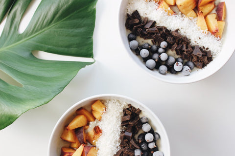 Healthy Smoothie Bowls for Before a Workout