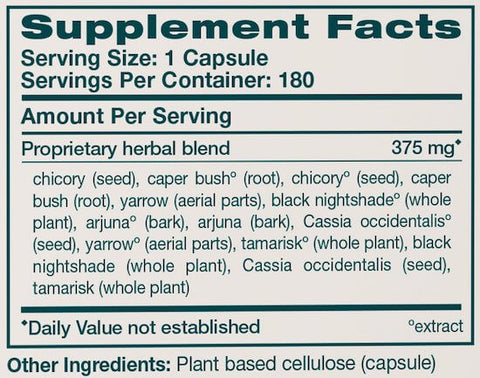 Himalaya LiverCare Liv52 Nutrition Facts at Supplement Superstore Canada