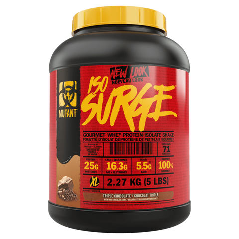 Iso Surge Whey Protein Powder Isolate Supplement Superstore