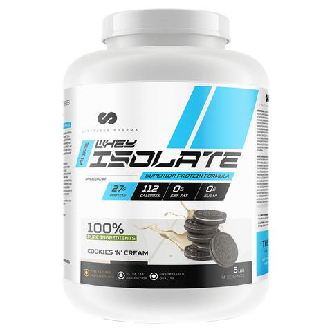 Limitless Pharma Whey Isolate Supplement Superstore