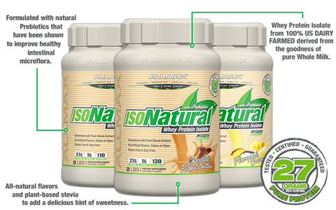 IsoNatural by Allmax Whey Protein Isolate at Supplement Superstore