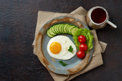 Keto Diet Food with Coffee