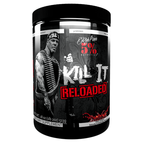 Kill It Reload Pre-Workout 5% Nutrition Energy Pump Supplement Superstore