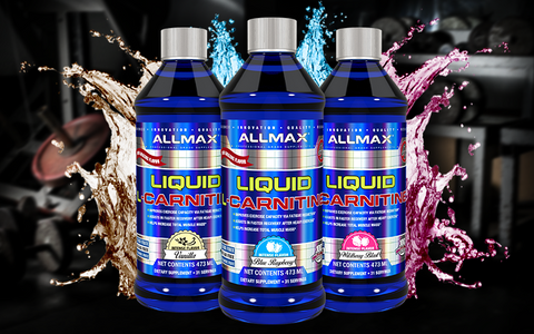 Allmax Liquid L-Carnitine Fat Burner Weight Loss Support at Supplement Superstore Canada