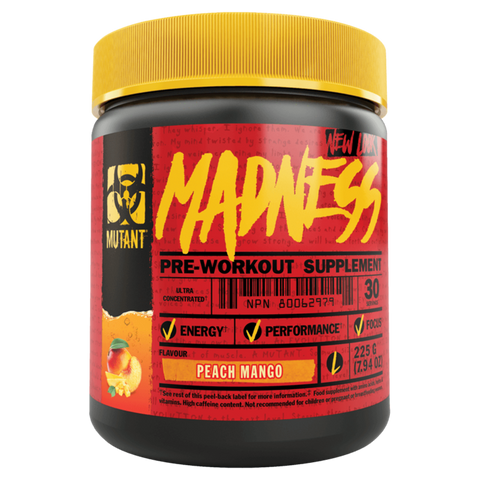Madness Pre-Workout Energy Pump Supplement Superstore