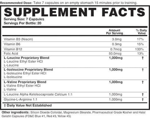 Magnum DNA Nutrition Facts at Supplement Superstore Canada