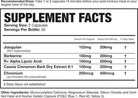 Magnum Mimic Nutrition Facts at Supplement Superstore Canada