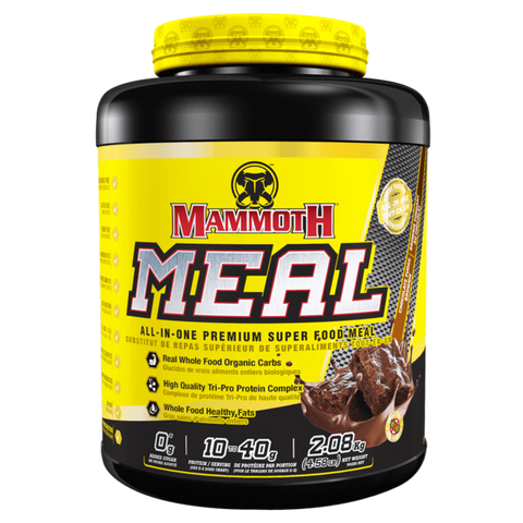 Chocolate Fudge Brownie Mammoth Meal, Meal Replacement Powder