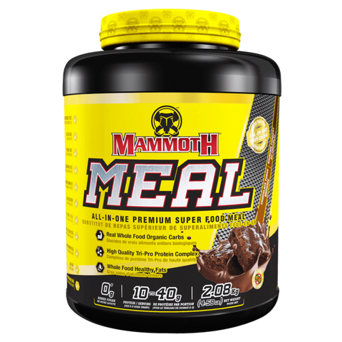 Mammoth Meal Meal Replacement Powder Protein Supplement Superstore