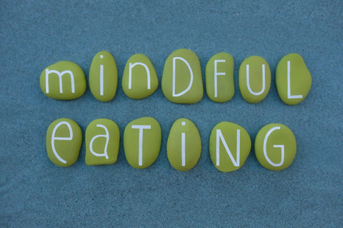 Mindful Eating Stones