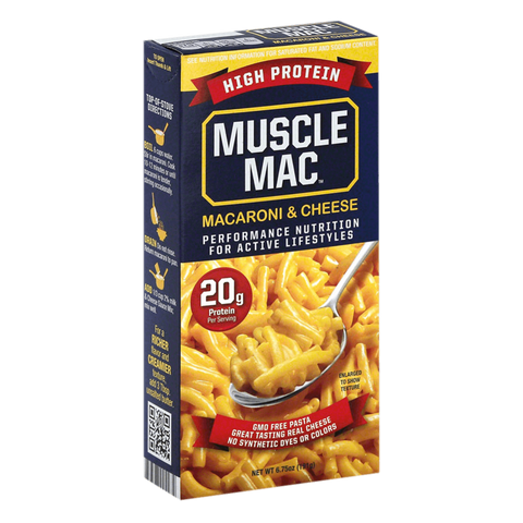 Muscle Mac Protein Pasta Mac & Cheese Supplement Superstore