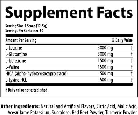 Nutrabolics Anabolic State Nutrition Facts at Supplement Superstore Canada