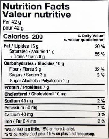 Nutraphase Clean Fats Nutrition Facts at Supplement Superstore Canada