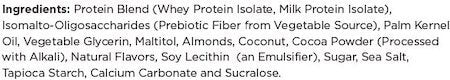 One Bar Ingredients at Supplement Superstore Canada