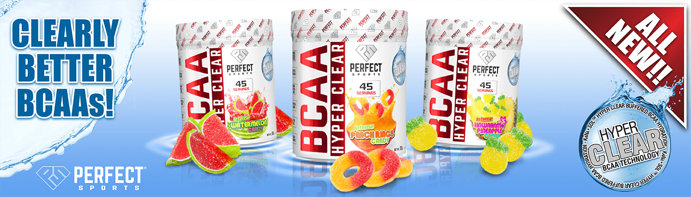 Perfect Sports BCAA Hyper Clear Banner